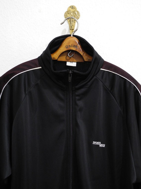 Equipment Silky Sports Wear Training Jacket M Black L Surfing Skateboarding Sopranos Track Bordeaux Mesh Rare wPYqUCxrP