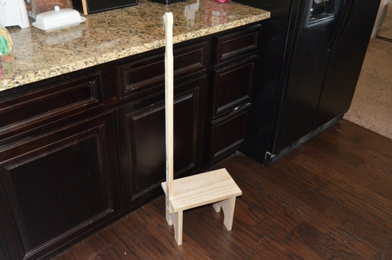 Awesome Step Stool Step Stool With Handle Kitchen Step Stool Bathroom Aide Foot Stool Kids Stool Bathroom Step Stool Step Stool Adult Gmtry Best Dining Table And Chair Ideas Images Gmtryco