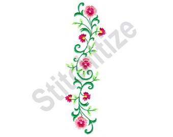Flower Vine Border Designs