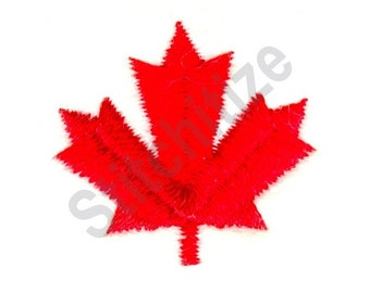 Canada Maple Leaf - Machine Embroidery Design 09b58e607588