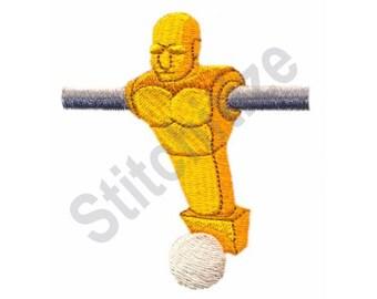 Foosball Player - Machine Embroidery Design, Foosball