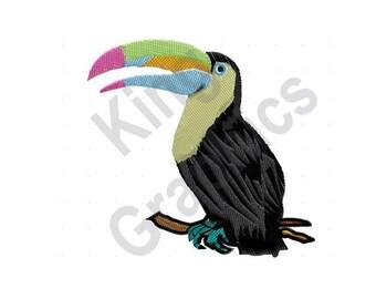 Toucan Oiseau - motif de broderie Machine, 4dd7de972b2