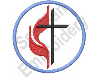 cross and flame etsy rh etsy com free methodist cross and flame clipart methodist cross and flame clipart