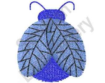 Lightning Bug - Machine Embroidery Design, Firefly, Insect