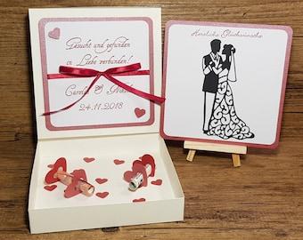 Geldgeschenk Hochzeit Personalisiert Ribba Rahmen Fotorahmen Etsy