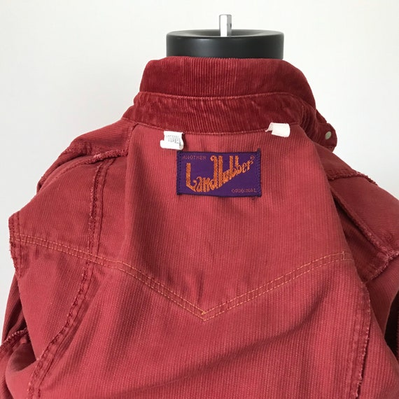 Landlubber rust red corduroy shirt dress - image 9