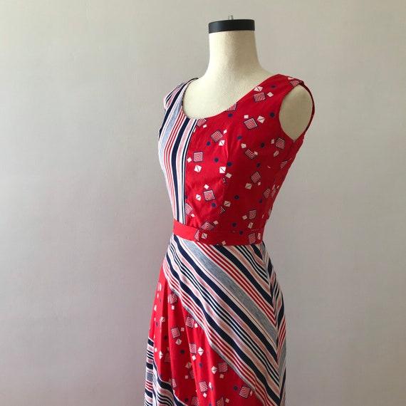 Sleeveless rayon cotton Lounge Craft maxi dress