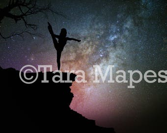 Starry Night Digital Background