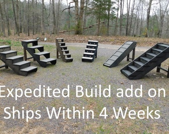 Expedited build Service Add on  4 Week