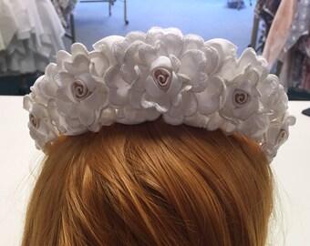 Bridal Floral Tiara