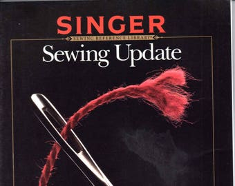 Vintage Singer Sewing updated No. 2 Out of print books