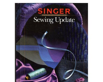 Vintage Singer Sewing Updates 1988 Out Of Print Book