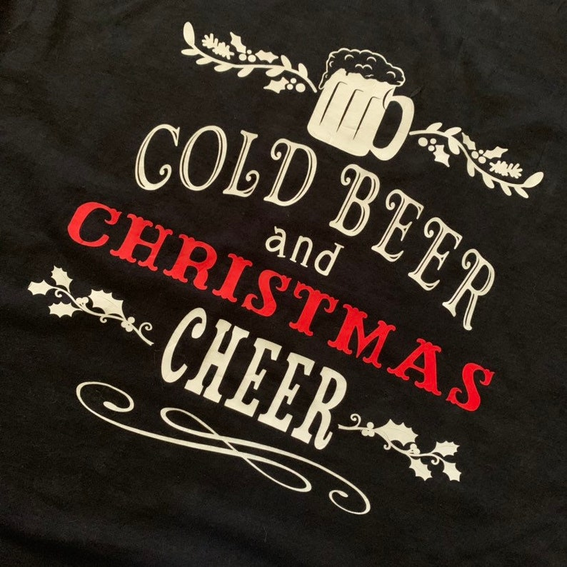 Cold Beer and Christmas Cheer
