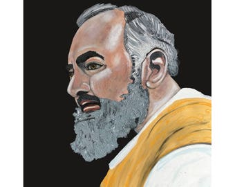 Padre Pio Print