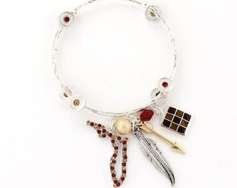 Florida State Traditions Wrap Bracelet