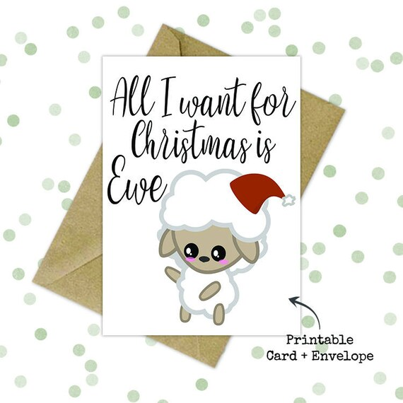 graphic relating to Funny Printable Christmas Cards called Printable greeting card/ Humorous christmas card/ Trip greeting playing cards/ Printable Xmas playing cards/ Printable card with envelope/ Past second reward