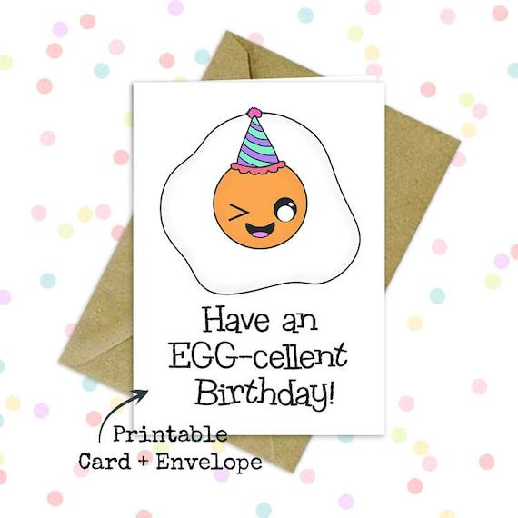Punny Birthday Card Hilarious Birthday Card Funny Bday Card Etsy