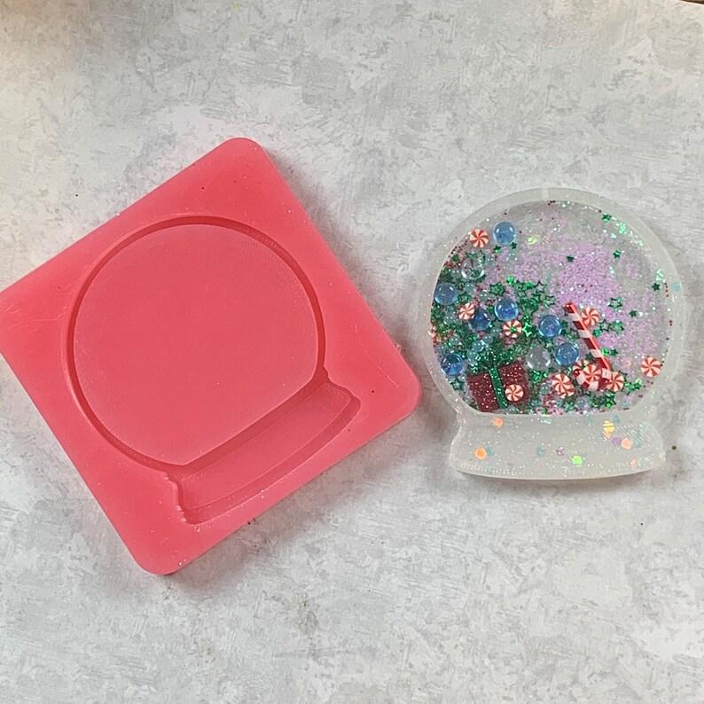 Silicone Snow Globe Shaker Mold