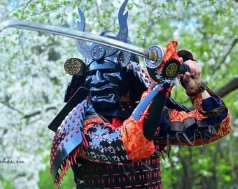 Samurai Armor Etsy