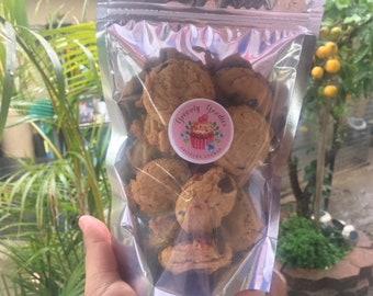 Vegan Chocolate chip cookies(1 dozen)