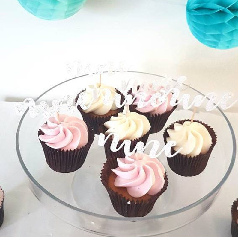 Awe Inspiring Ninth Birthday Cake Topper Nine Cupcake 9 Birthday Set Of Etsy Birthday Cards Printable Giouspongecafe Filternl