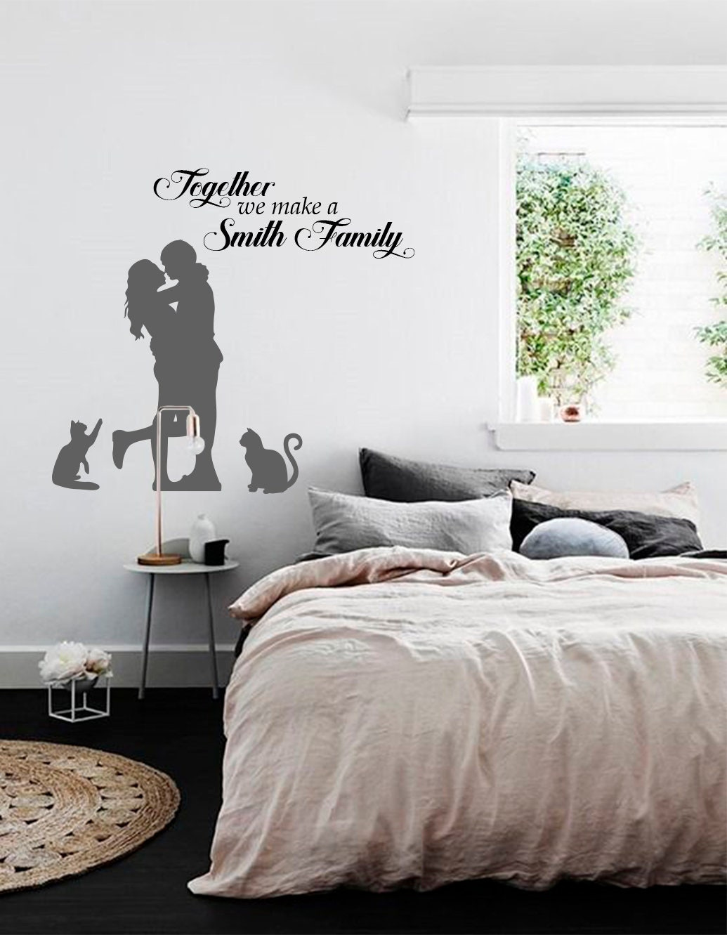 Family Name Wall Decal Family Quote Decal Dining Room Vinyl Etsy