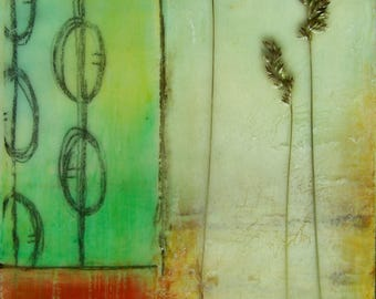 SALE~Encaustic Painting Still