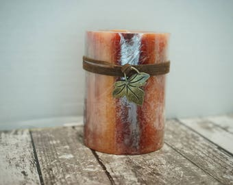 Homemade Holiday Scented Candle