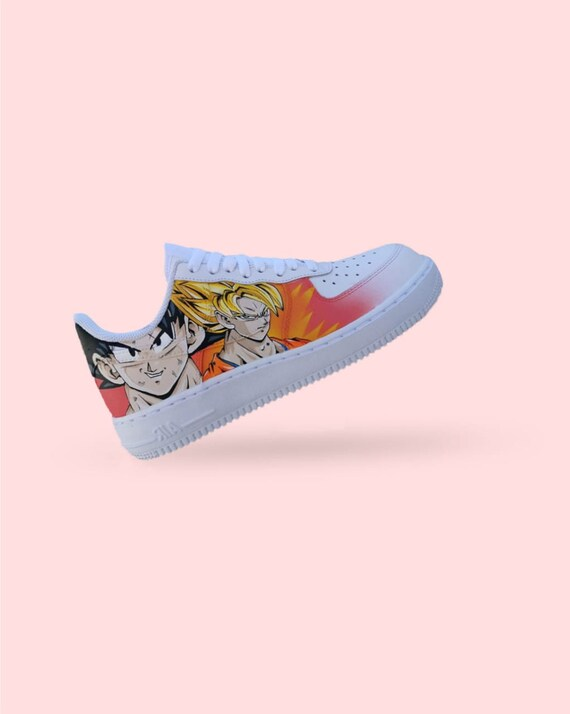 Original Sneakers DBZ / Custom Air Force 1 / Custom Made Shoes / DRAGON BALL Z