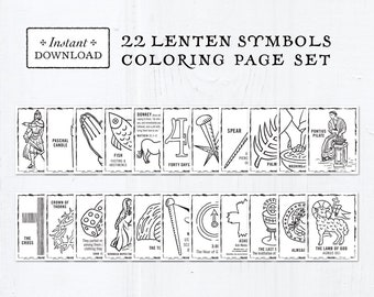 Lent Coloring Pages Gallery - Whitesbelfast | 270x340