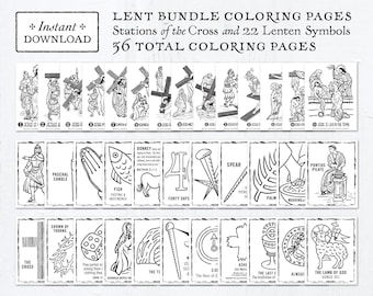 adult lent coloring page lent coloring pages to print. lent ... | 270x340