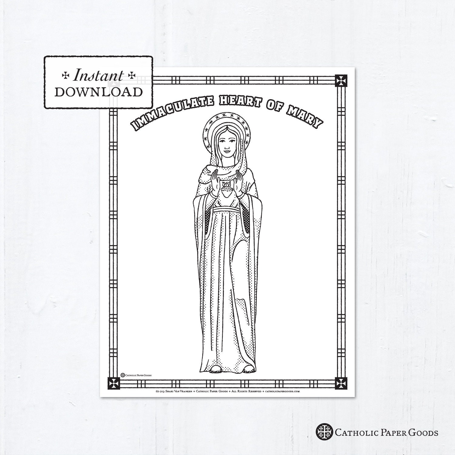 Catholic Coloring Pages. catholic saints and all saint s day ... | 1500x1500