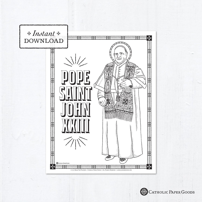 165 Best Saints Coloring Pages images | Saint coloring, Coloring ... | 1500x1500