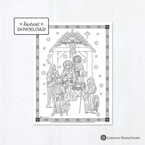 The Catholic Kid Catholic Coloring Pages and Games for Children ... | 570x570