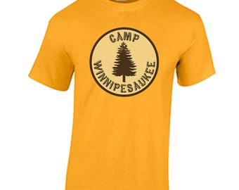 82c8b375f58f9 Camp Winnipesaukee T Shirt Funny Justin Timberlake Jimmy Fallon Shirt The  Tonight Show Skit