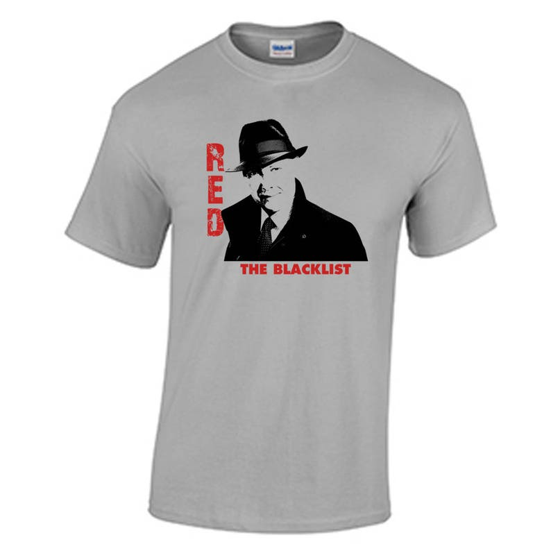 T-shirt rouge Raymond Reddington La liste noire liste noire femme cadeau