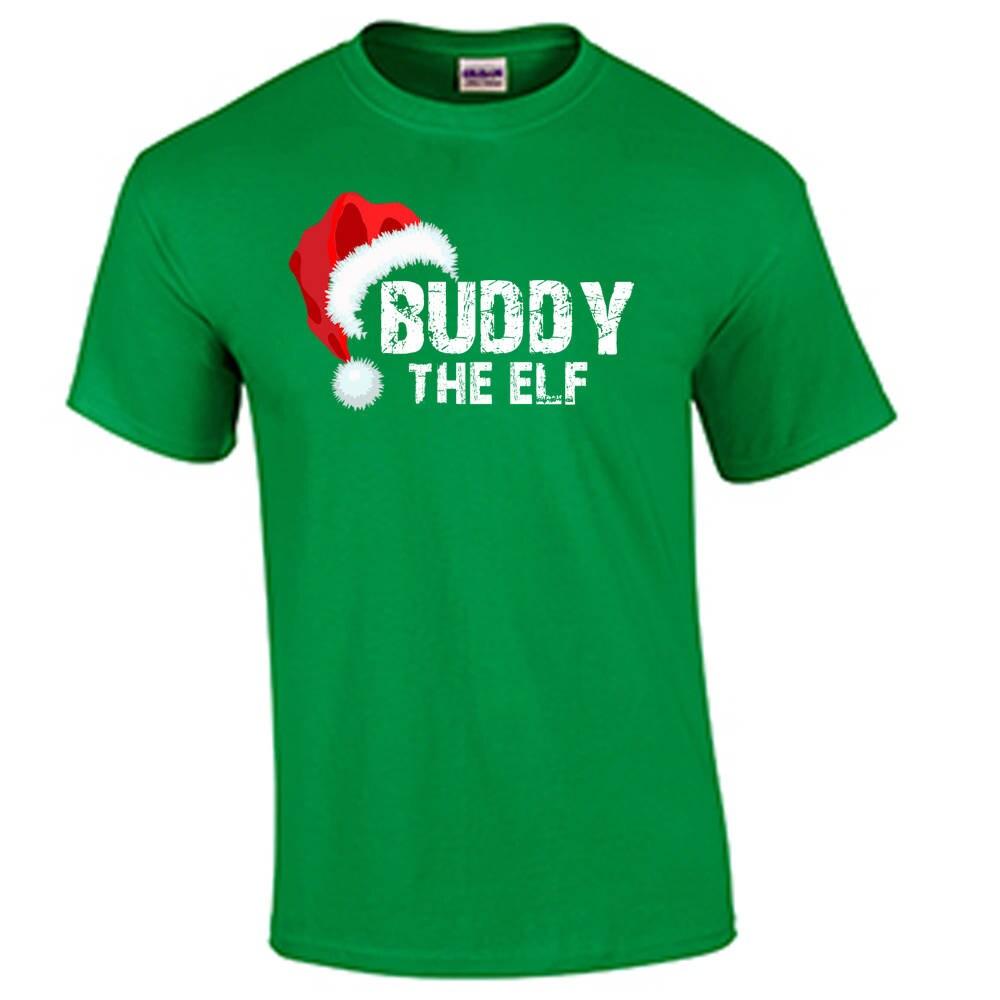 Weihnachten T Shirt Buddy der Weihnachtself Shirt Elfe wird | Etsy