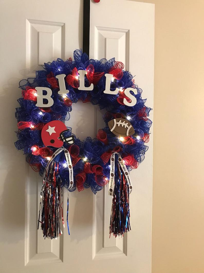 58061d92 Buffalo Bills | Football | Wreath | New York | NFL | Sports