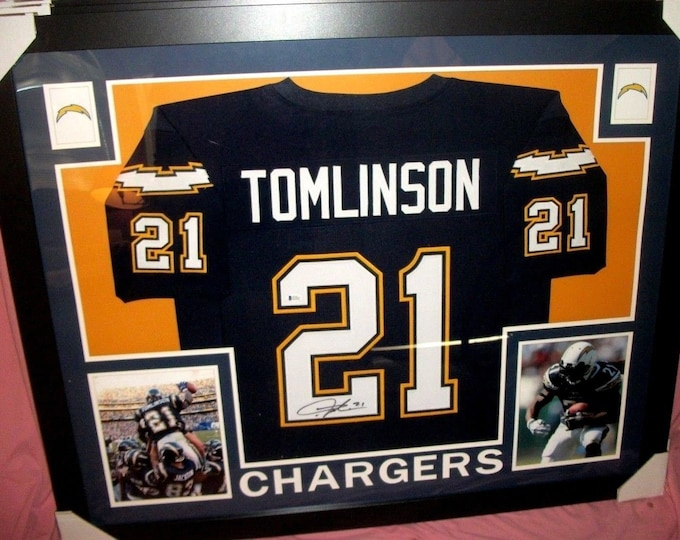 1641d16440e LaDainian Tomlinson Signed San Diego Chargers 35