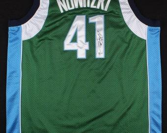 b6fbe3d1c Dirk Nowitzki Signed Dallas Mavericks Adidas NBA Jersey 100% Polyester!  Future Hall-of-Famer (JSA COA) Discounted!!!
