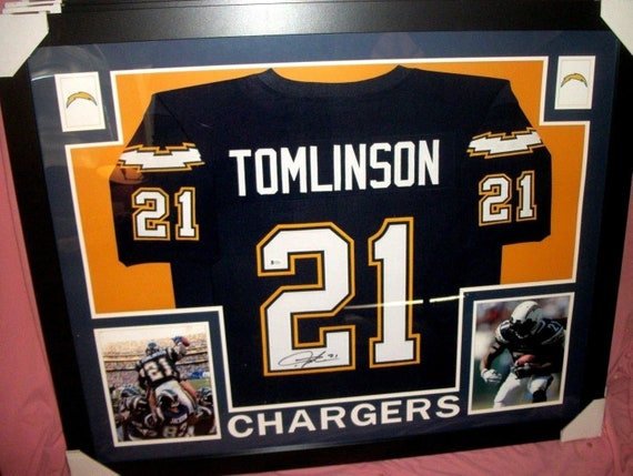 buy online f882e 3887f LaDainian Tomlinson Signed San Diego Chargers 35