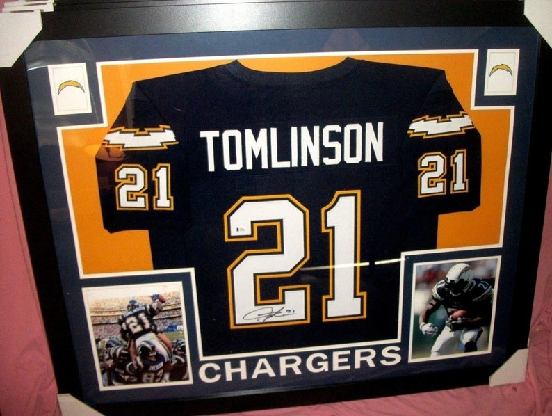 sale retailer ebfe6 f4bee LaDainian Tomlinson Signed San Diego Chargers 35