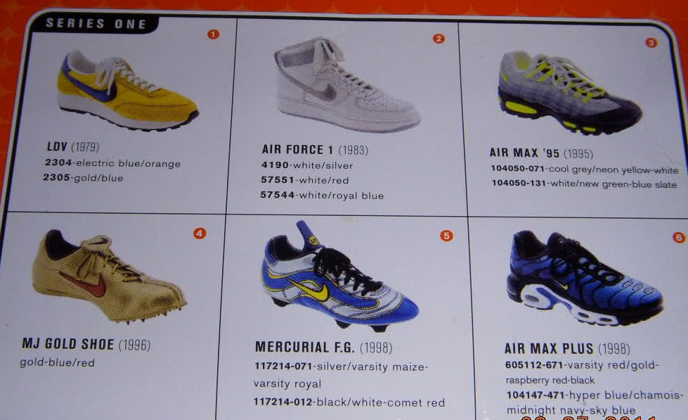 check out 558cc 196f7 Nike Classics Commemorative Footwear **Randy Bowen SIGNED ...