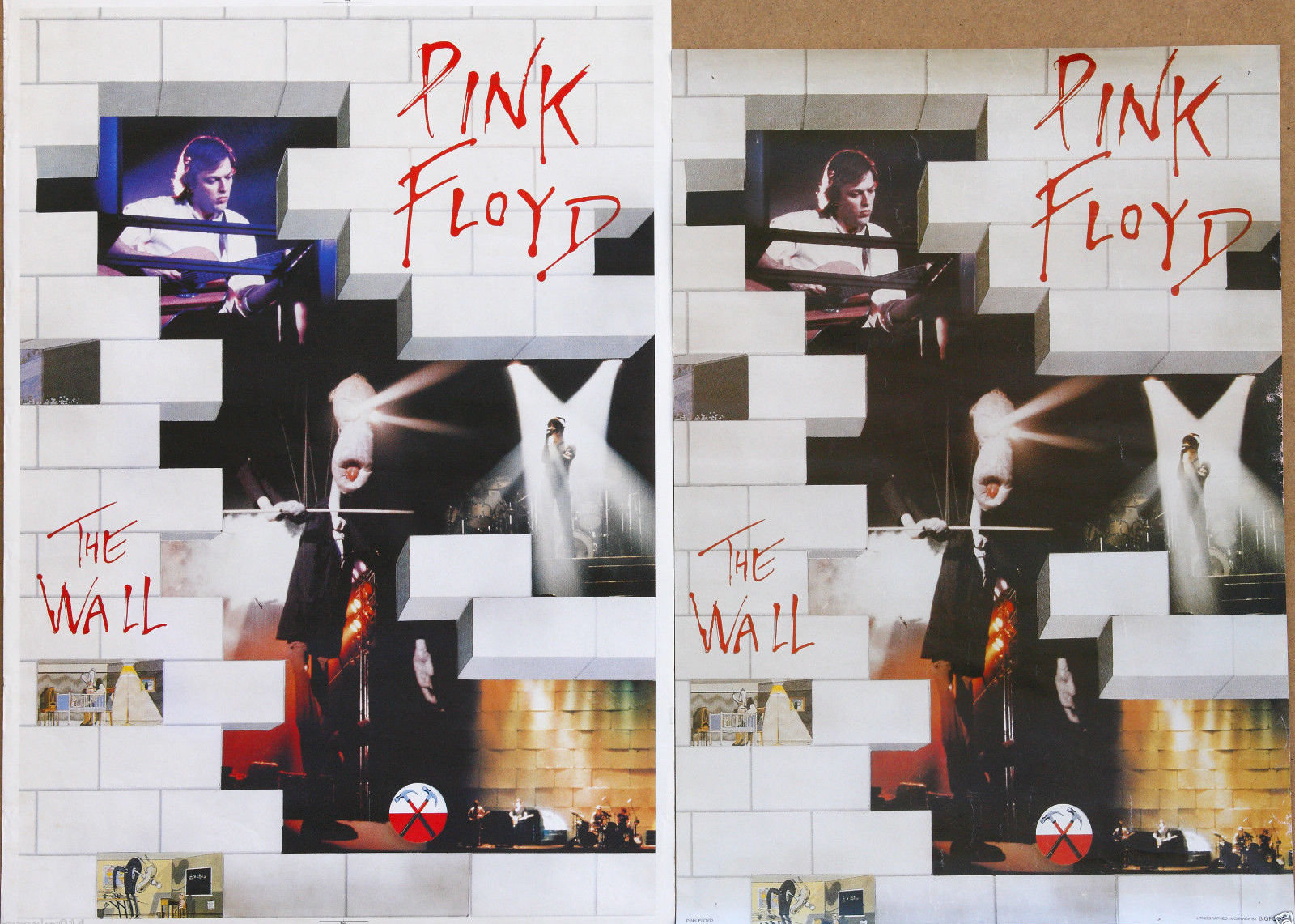 Pink Floyd Store : pink floyd the wall england uk import schwartz 1980 39 s vintage promo poster 34x24 not bigfoot ~ Russianpoet.info Haus und Dekorationen