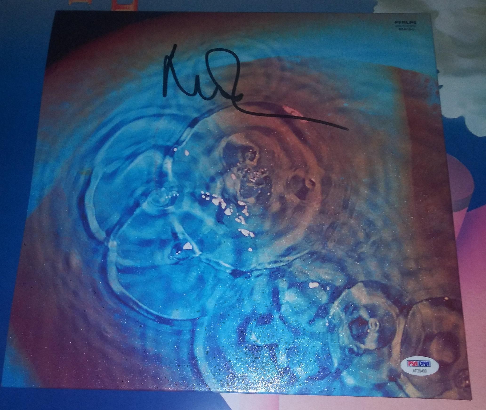 Pink Floyd Drummer **Nick Mason** Signed (1971) Meddle Vinyl