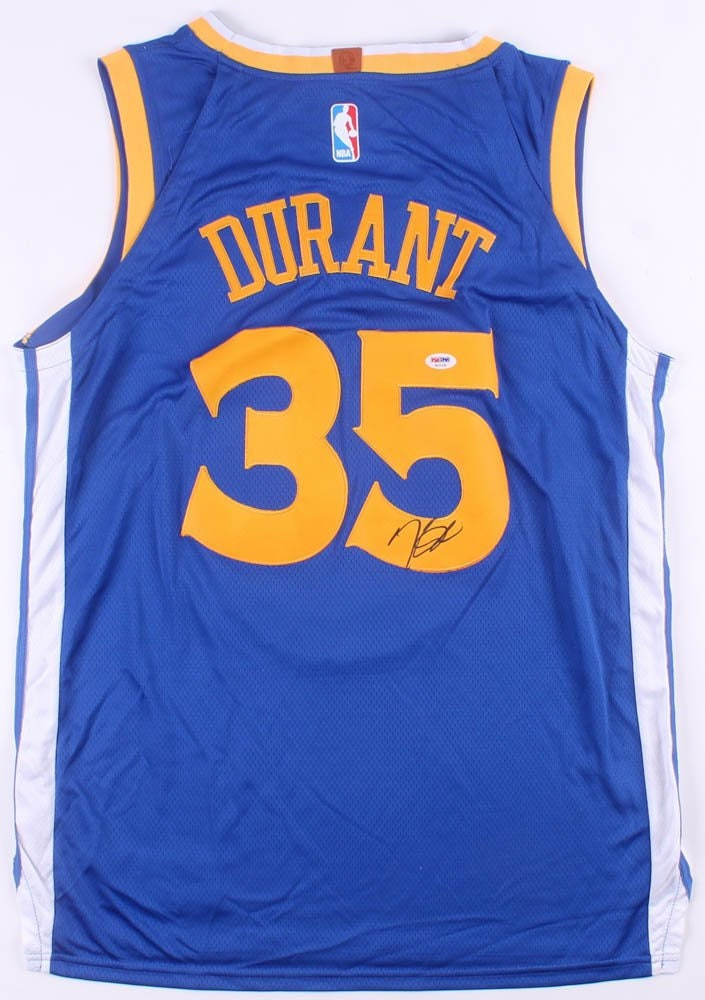 9089368b4b5 Kevin Durant SIGNED Golden State Warriors   Nike Swingman   NBA Authentic  Jersey (PSA Authenticated)
