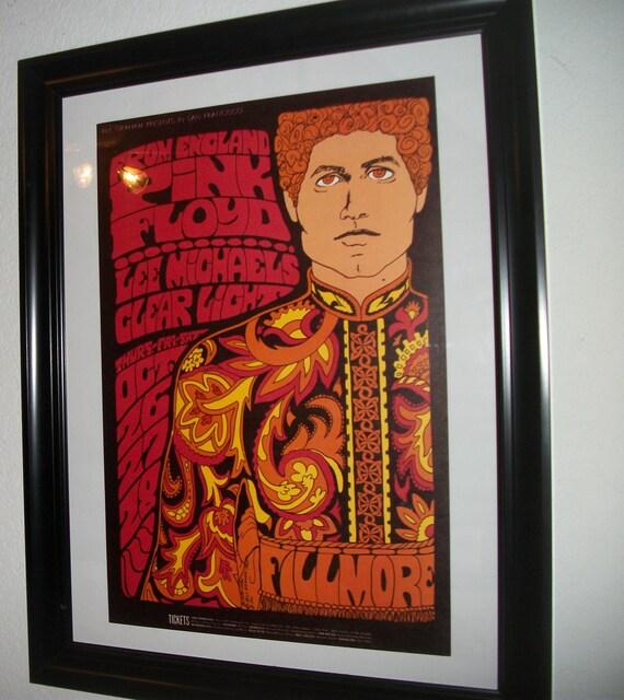 7b0c56f6 Pink FloydBill Graham BG-90 Fillmore 1967 First | Etsy