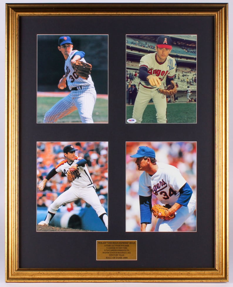 finest selection 61ed3 40640 Nolan Ryan Signed 24