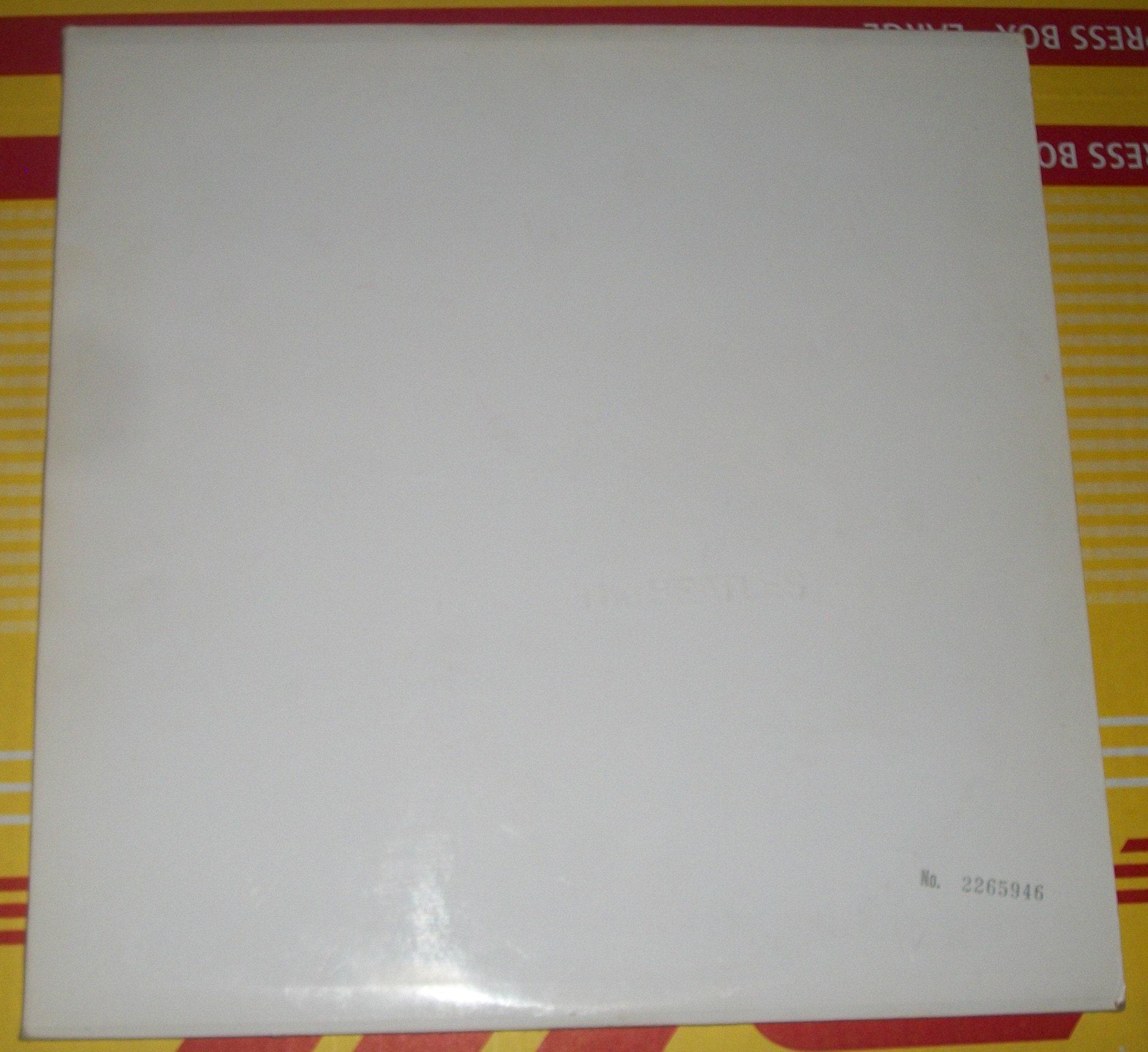 white album serial number 1