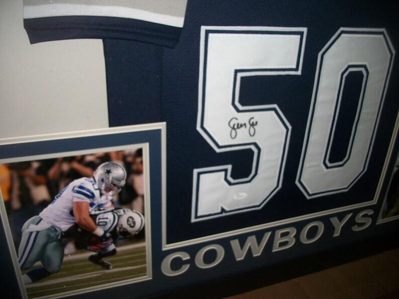 24c56514f87 CLEARANCE Sean Lee Signed Dallas Cowboys 35x43 Custom Framed   Etsy